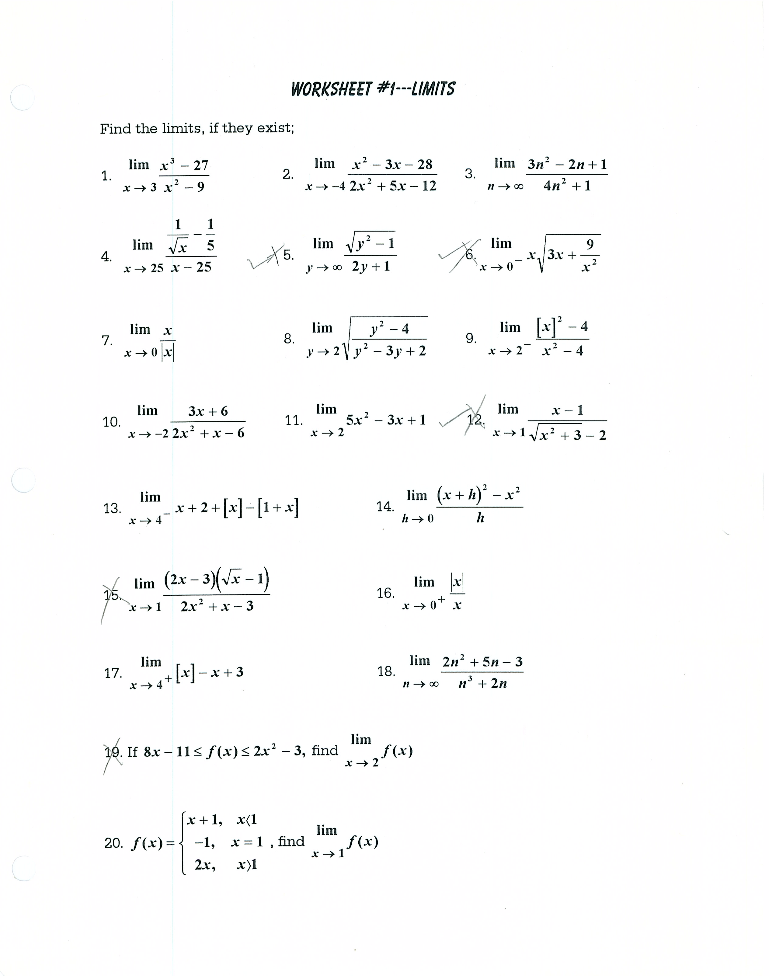 volume and area worksheets